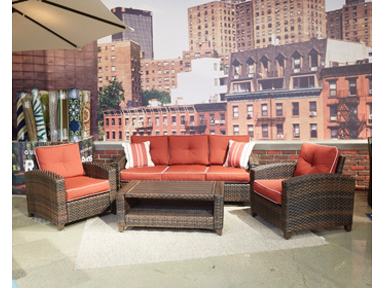 Ashley Meadowtown Sofa/Chairs/Table Set (4/CN) P333-081 - Portland ...