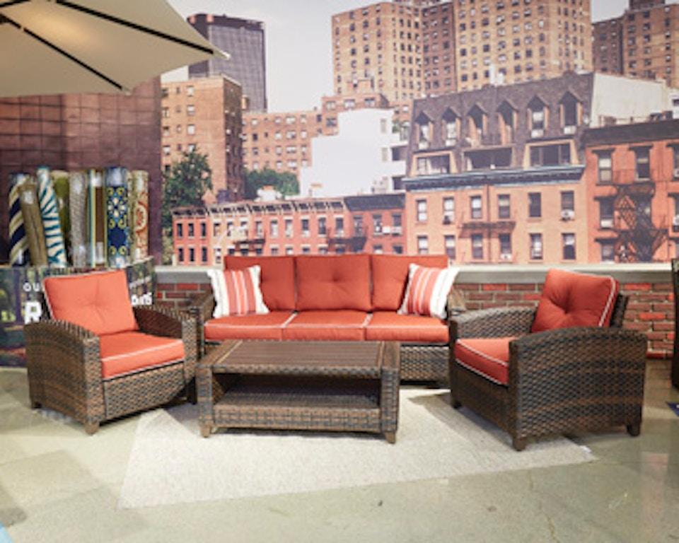 Ashley Meadowtown Sofa/Chairs/Table Set (4/CN) P333-081