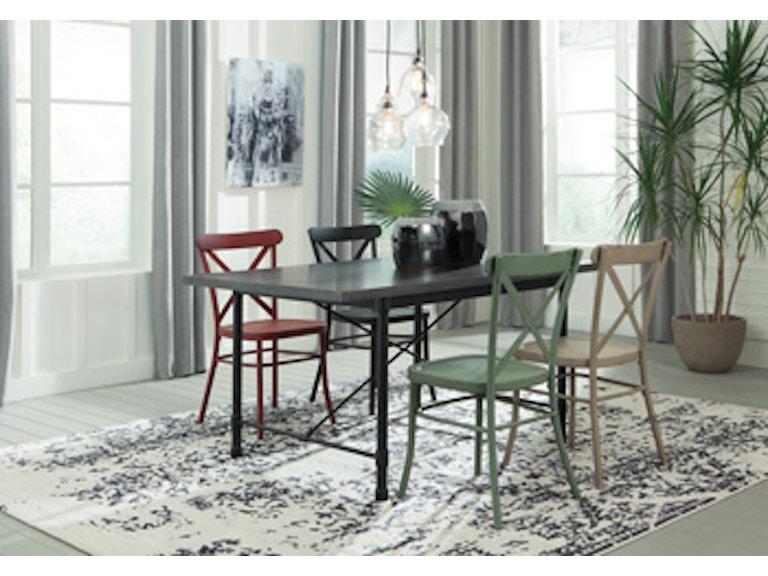 Ashley Minnona Rectangular Dining Room Table D400-225 - Portland, OR ...