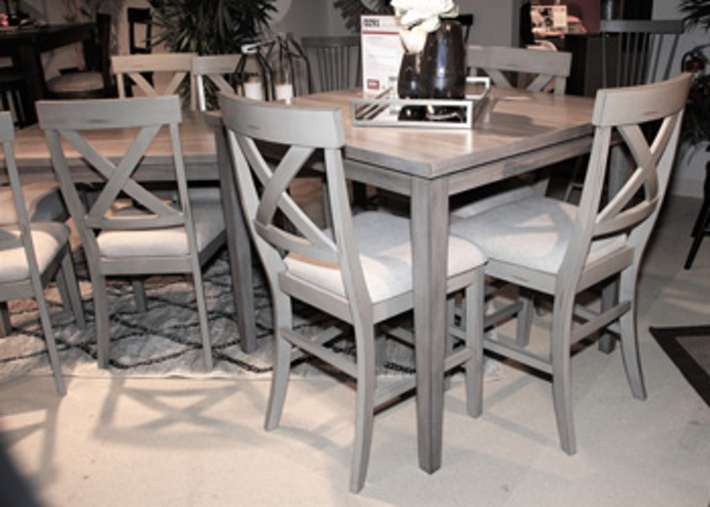 Ashley Parellen Counter Height Dining Room Table D291 13 Portland Or Key Home Furnishings