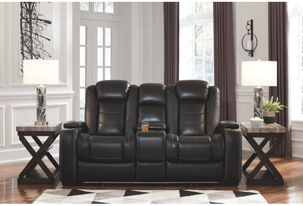Super Party Time Power Reclining Loveseat With Console Beatyapartments Chair Design Images Beatyapartmentscom