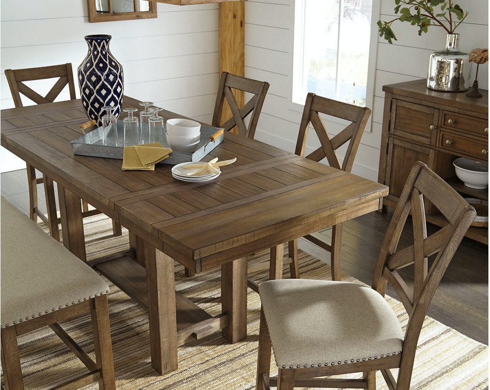 Ashley Moriville Counter Height Dining Room Extension