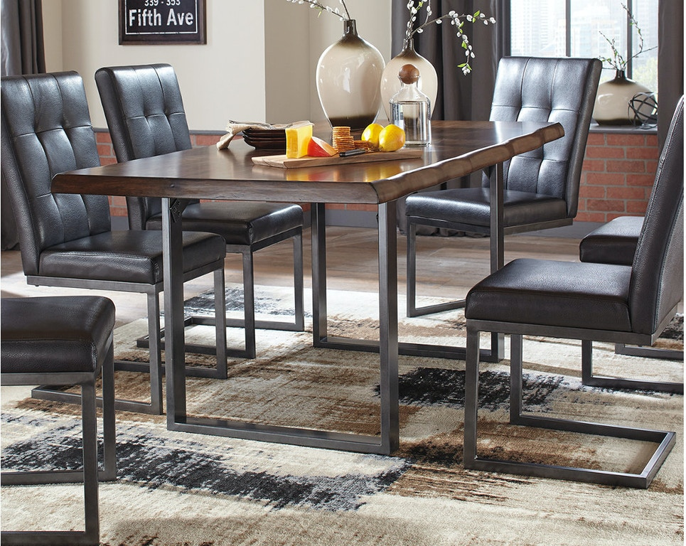 Ashley Rectangular Dining Room Table D665 25 In Portland Oregon