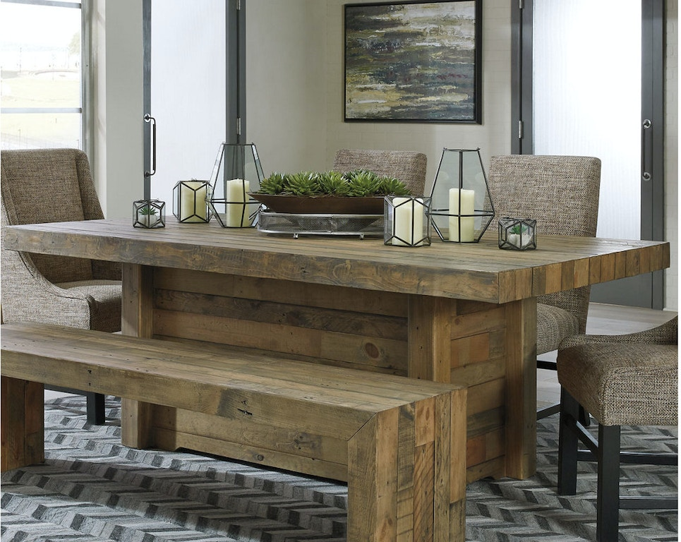 Ashley Rectangular Dining Room Table D775 25 In Portland Oregon