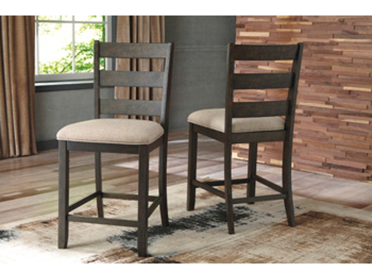 Ashley Rokane Counter Height Bar Stool D397 124 Portland Or Key