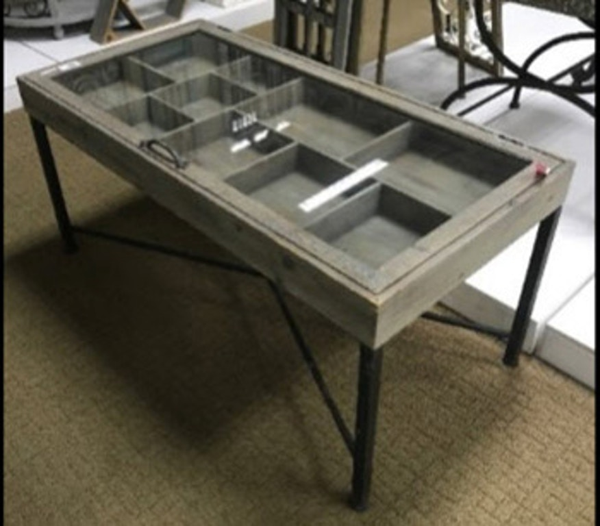 Ashley Shellmond Coffee Table With Display Case A4000208 Portland Or Key Home Furnishings