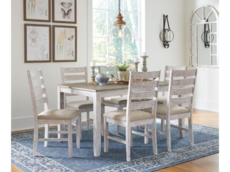 Ashley Skempton Dining Room Table Set (7/CN) D394-425 - Portland, OR