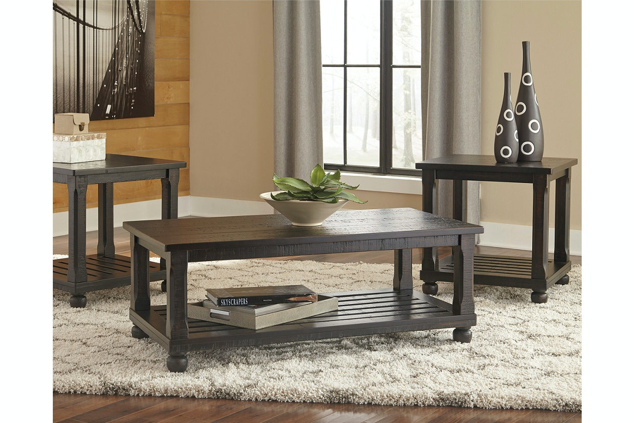 Attrayant Ashley Mallacar Occasional Table Group (3/CN) T145 13