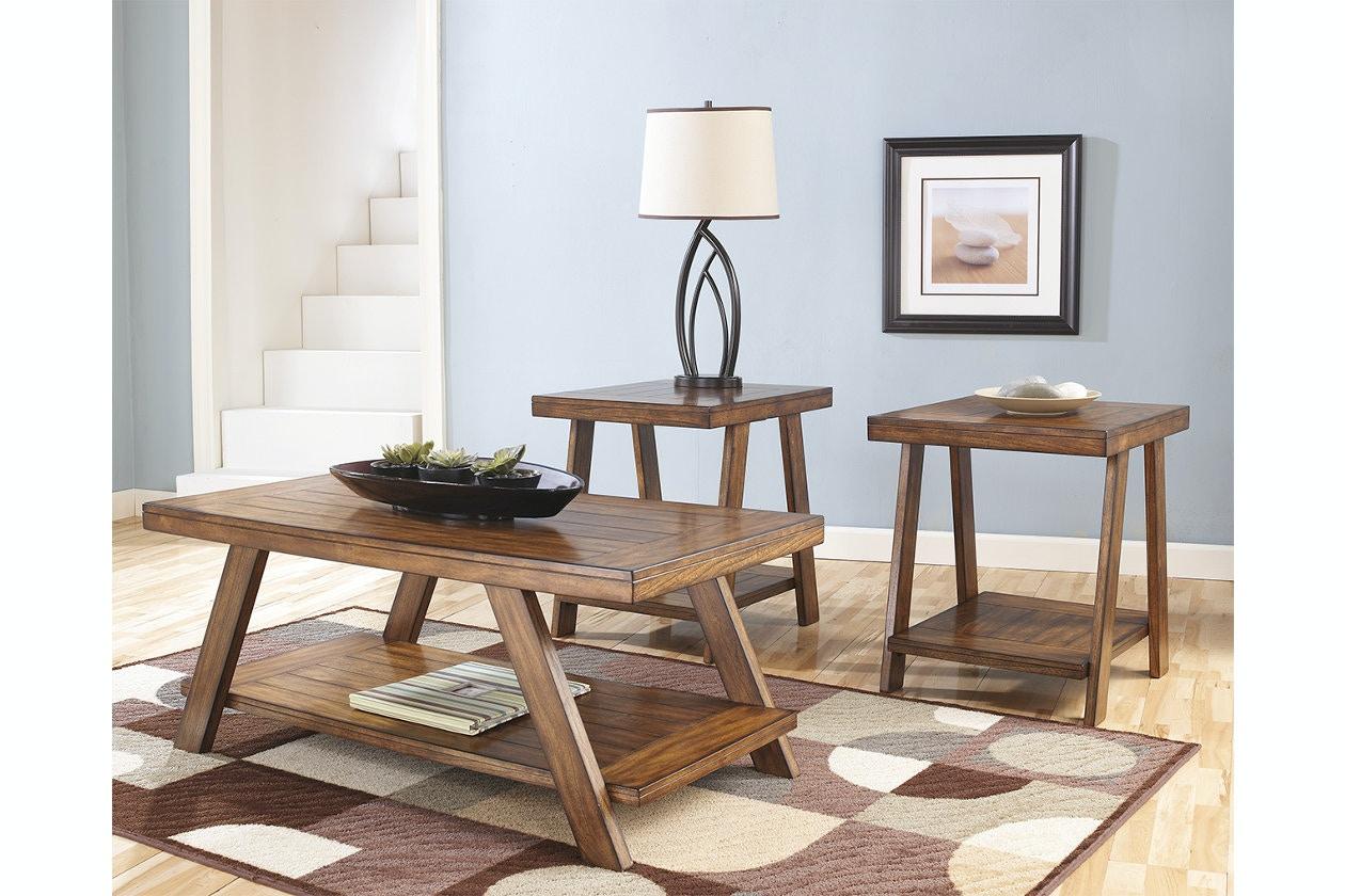 Genial Ashley Occasional Table Set (3/CN) T392 13