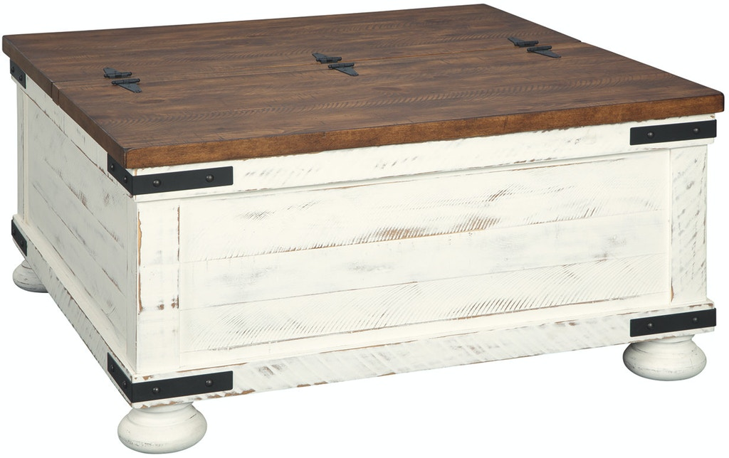 Ashley Wystfield Cocktail Table With Storage T459 20