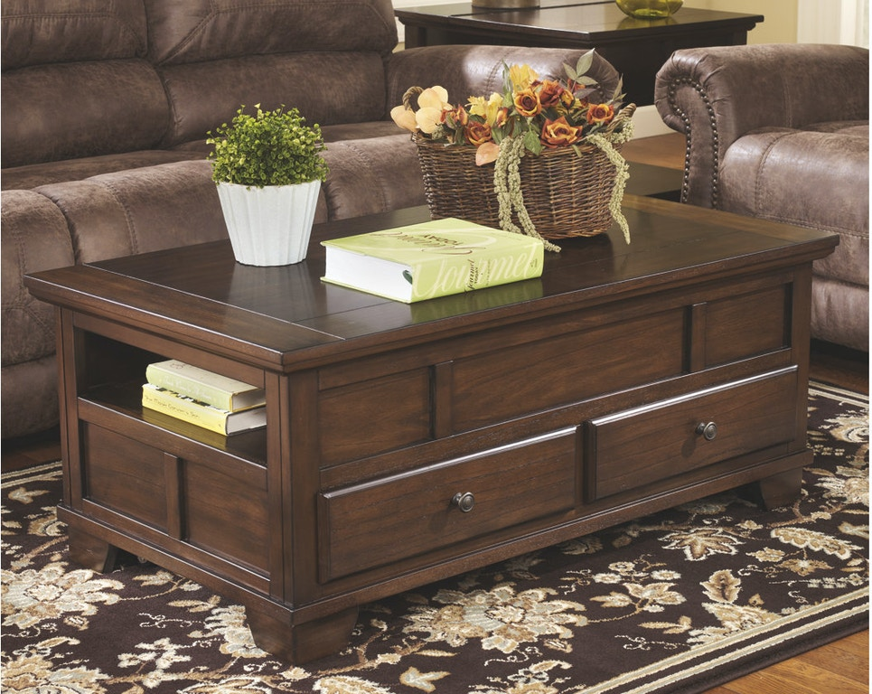 Ashley Gately Coffee Table With Lift Top T845 9 Portland Or Key Home Furnishings