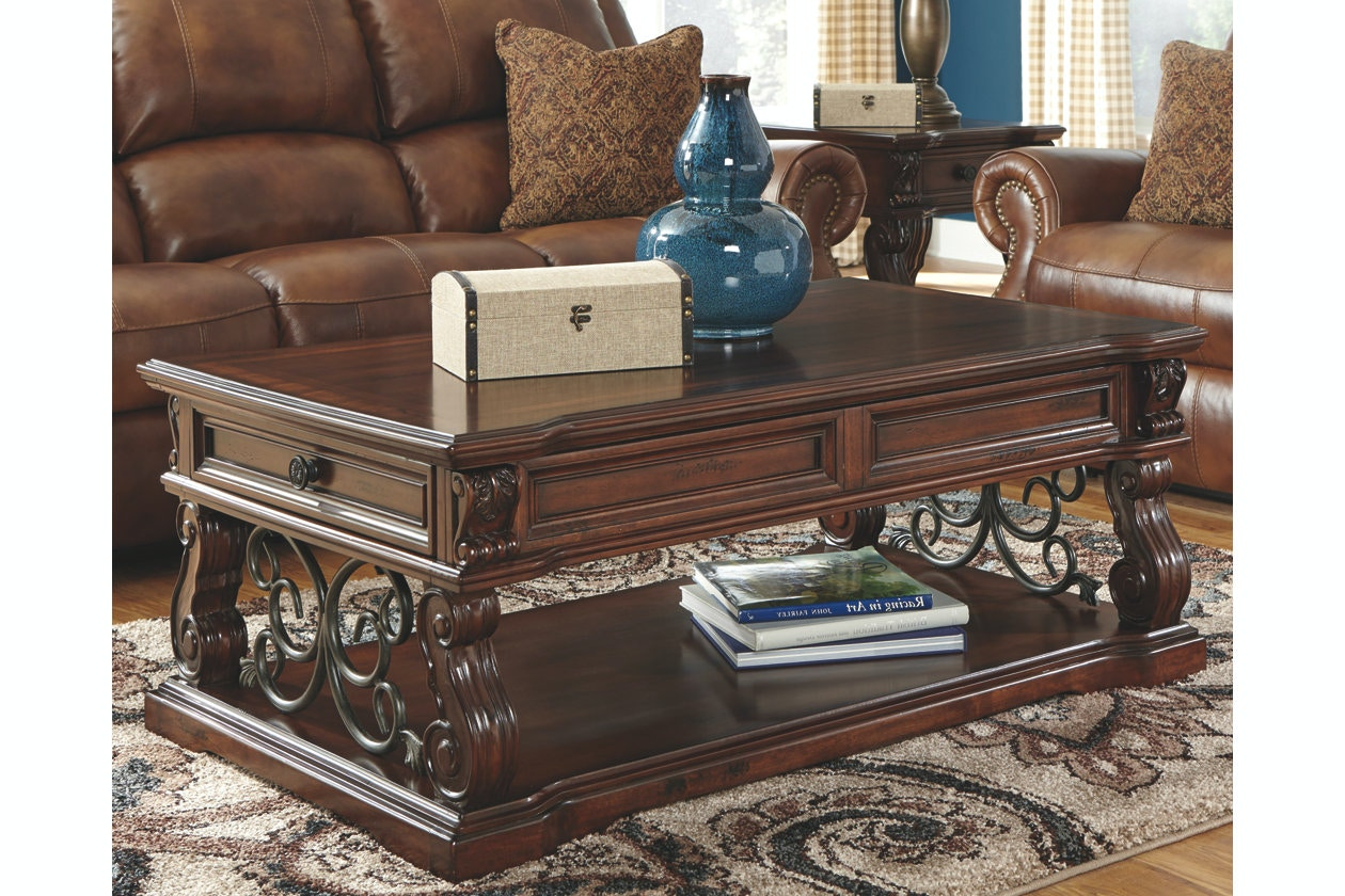 Ashley Lift Top Cocktail Table T869-9 & Coffee Sofa \u0026 End Tables and More - Portland OR   Key Home ...