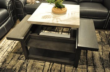 Ashley Vineburg Coffee Table With Lift Top T450 9 Portland Or Key Home Furnishings