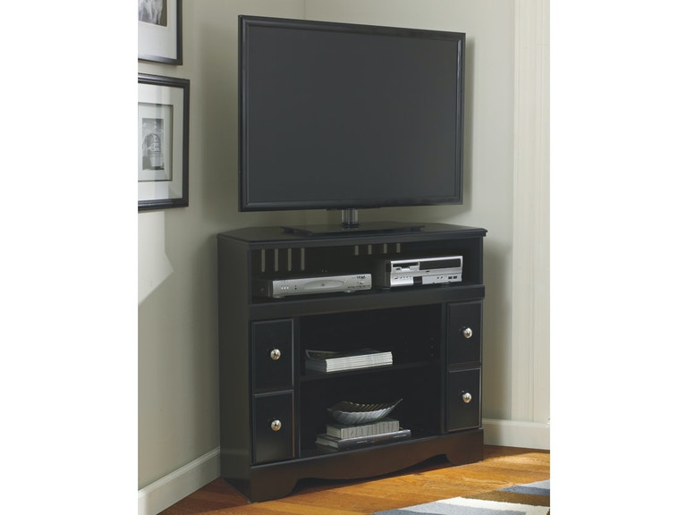Ashley Shay Corner Tv Stand Fireplace Opt W271 12