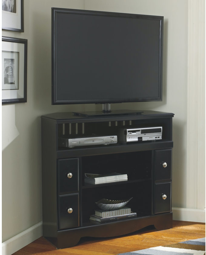 Ashley Shay Corner Tv Stand Fireplace Opt W271 12 Portland Or