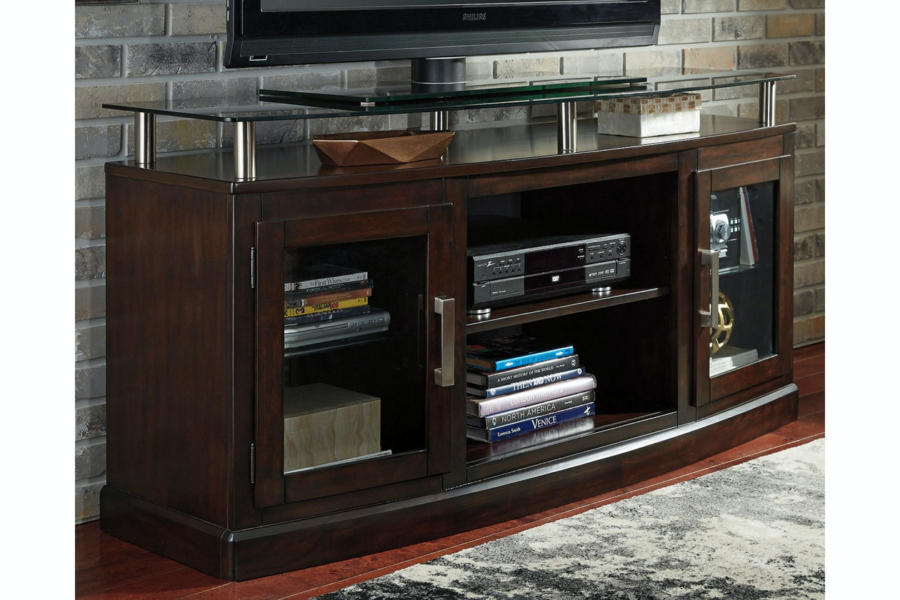 Ashley Chanceen Medium Tv Stand Fireplace Opt W757 48 Portland Or