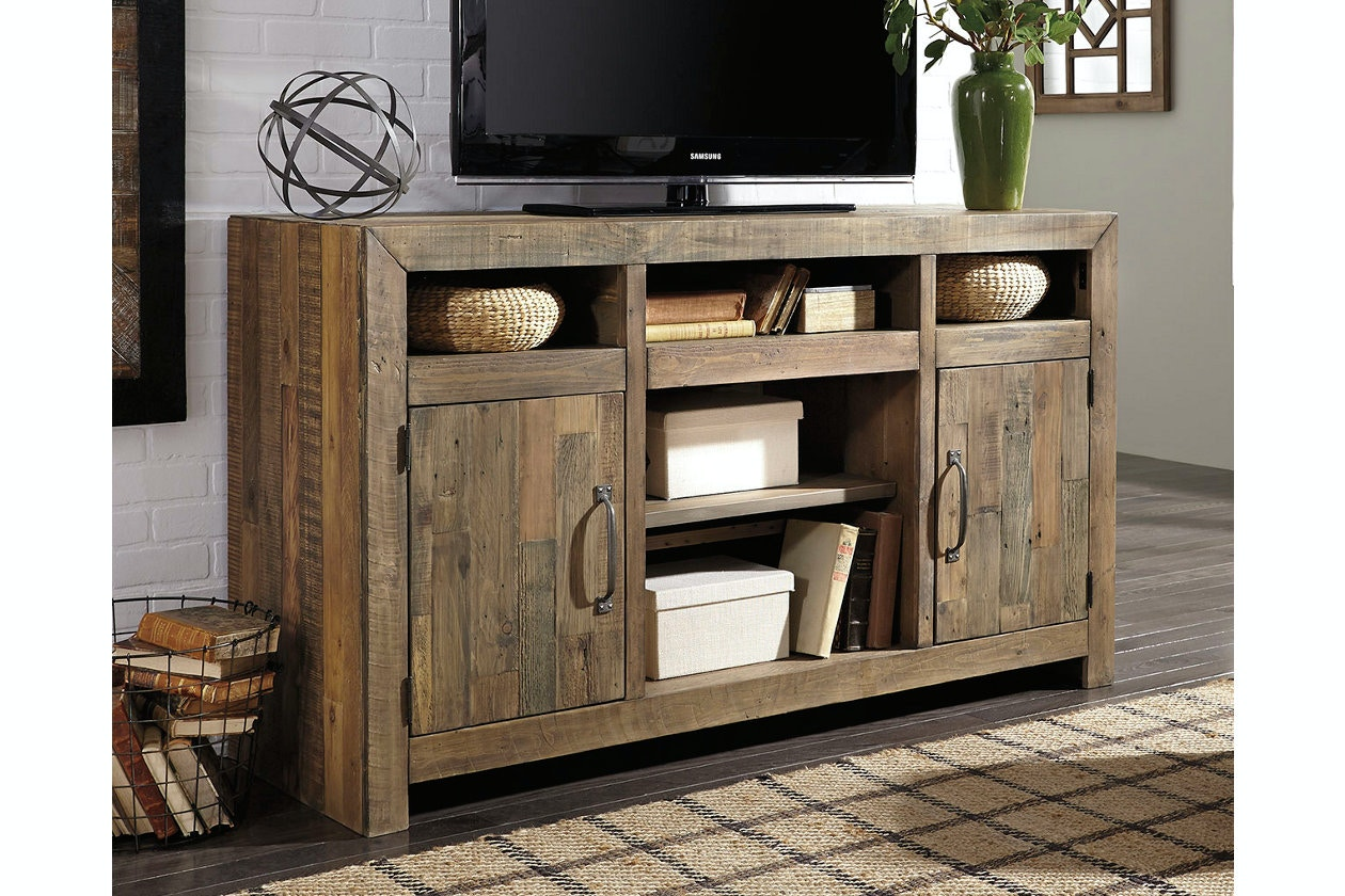 Ashley Sommerford Lg Tv Stand W Fireplace Option W775 48 Portland