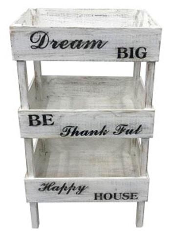 Antique White Signature Design by Ashley A4000091 Yulton Storage Shelf