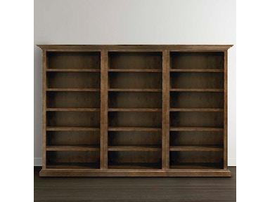 9525 k680t tall triple open bookcase - Tall Bookshelves