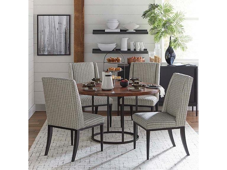Bassett Custom Dining 54 Copper Table W Round Base 4618 K54cp08 Portland Or Key Home