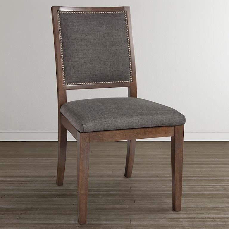 Bassett Custom Dining Square X-Back Uph Side Chair (QTY 2 ...