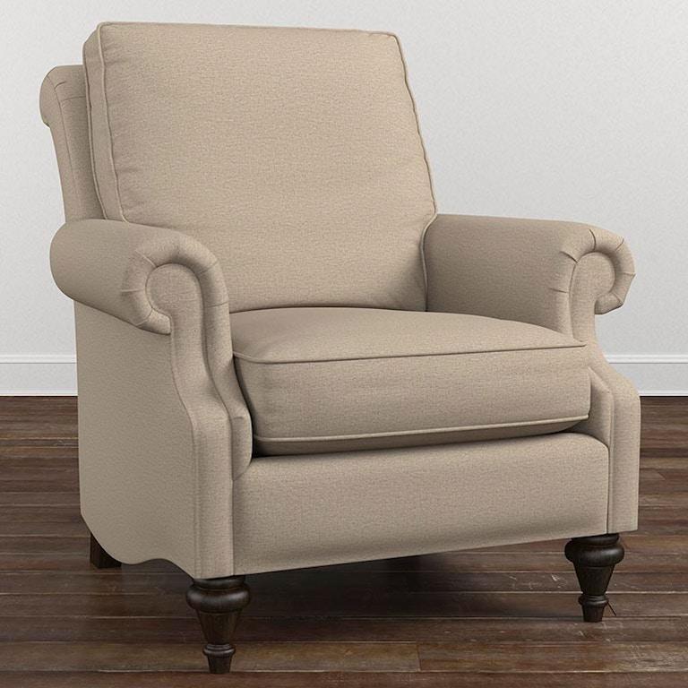 Bassett Oxford Accent Chair 1494 02 Portland Or Key