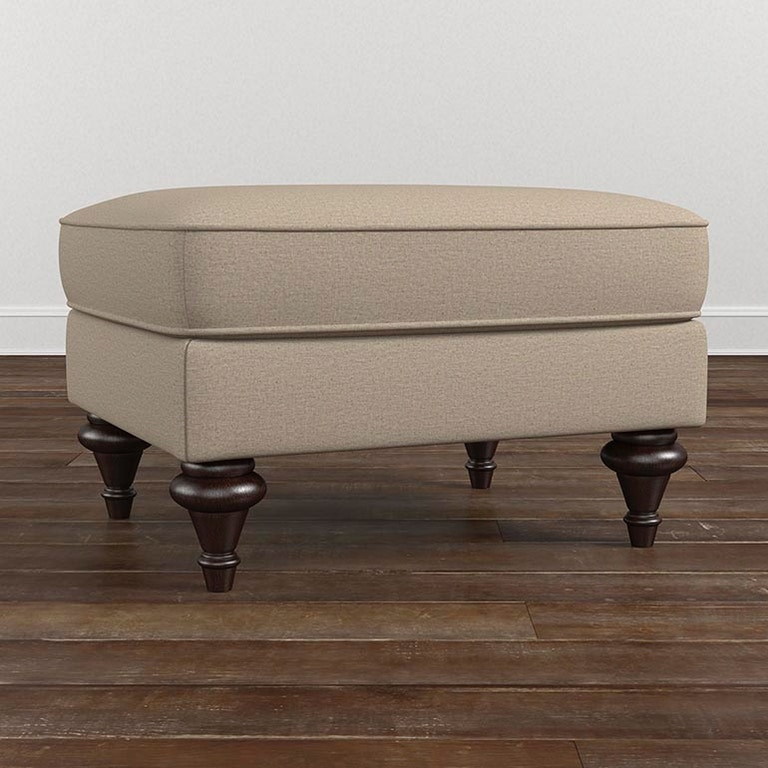 Bassett Oxford Ottoman 1494 01 Portland Or Key Home Furnishings