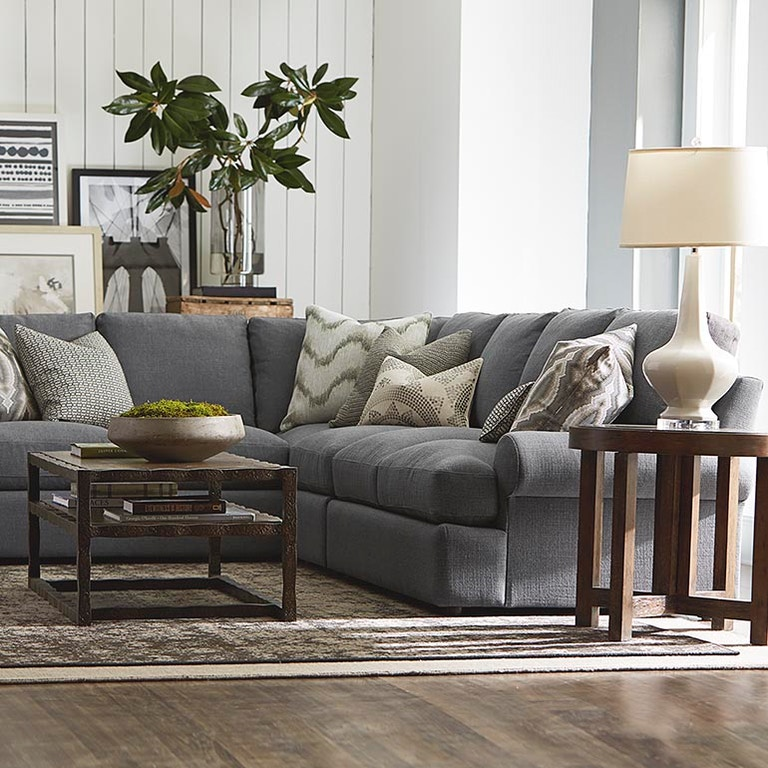 Bassett Sutton L Shaped Sectional 2607 Lsects Portland