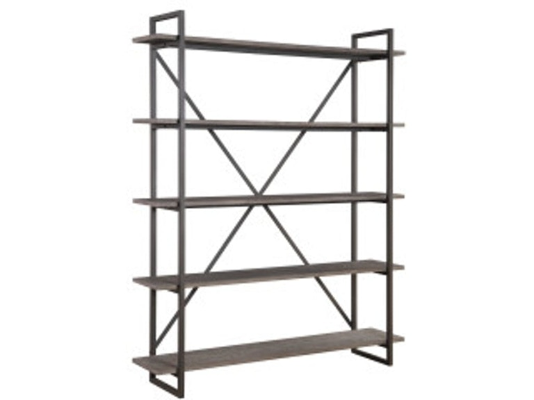 Emerald Home Furnishings Bookshelf 60 W 5 Shelves RTA AC330 In