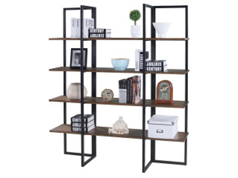 Emerald Home Furnishings Bookshelf 60 W 4 Shelves RTA AC390 In