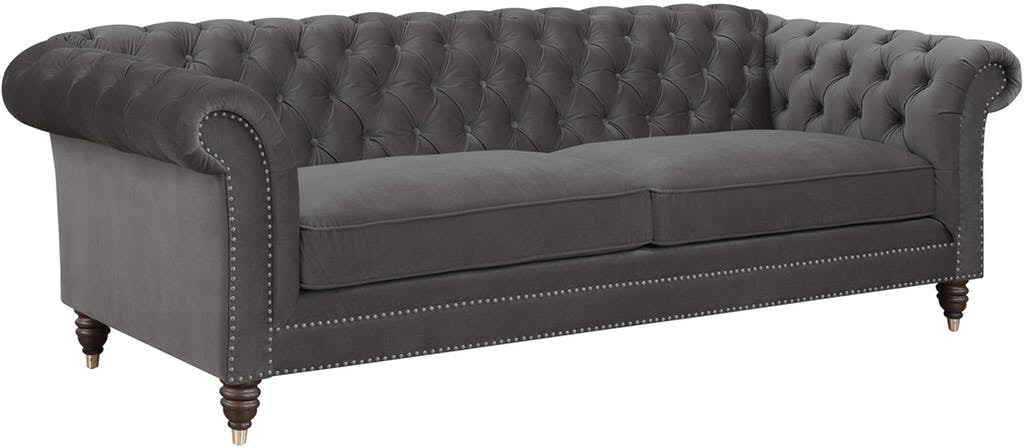 Emerald Home Furnishings Capone Sofa Platinum U3545 00