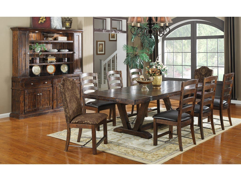 Emerald Home Furnishings Dining Table Kit D942DC 10 K In Portland Oregon
