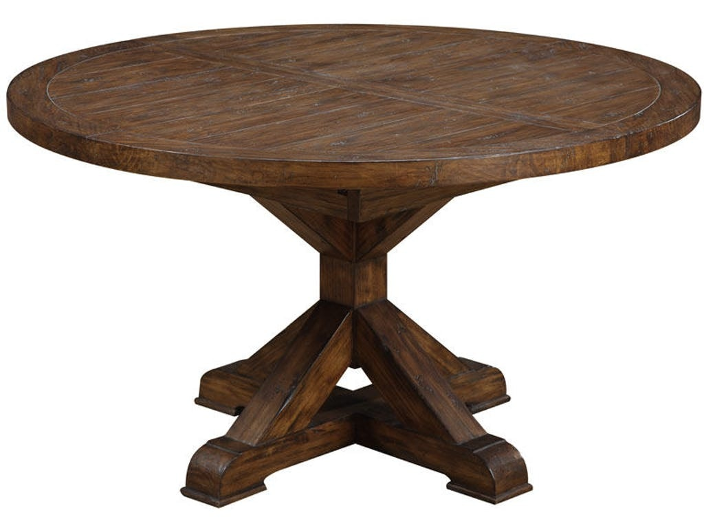 Emerald Home Furnishings Chambers Creek Round Dining Table Kit D412