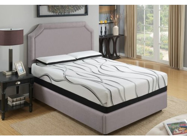 Emerald Home Furnishings Mattress Cool Jewel Starlight Ii 12 Es5212 In Portland Oregon