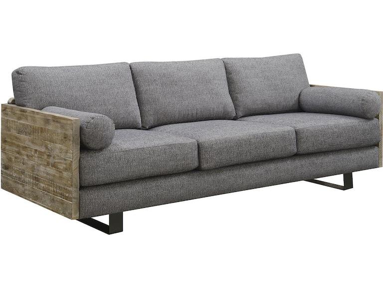 Emerald Home Furnishings Sofa W 2 Bolster Pillows U5600 00 03 In Portland