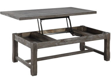 Emerald Home Furnishings Lift Top Tail Table T3504