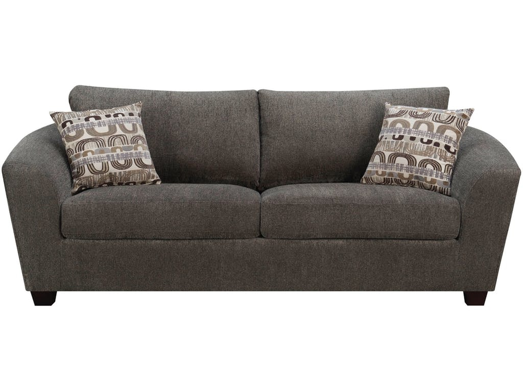 Emerald Home Furnishings Sofa Ink W/2 Accent Pillows U3613 00 13 In