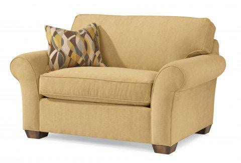 Flexsteel Fabric Chair And A Half 7305 101 In Portland, Oregon
