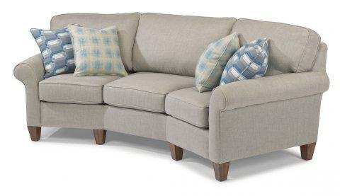 Flexsteel Fabric Conversation Sofa 5979 323 In Portland, Oregon