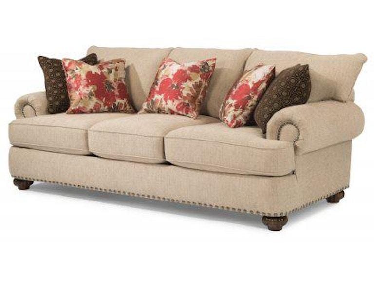 Flexsteel Fabric Sofa With Nailhead Trim 7322 31 In Portland Oregon