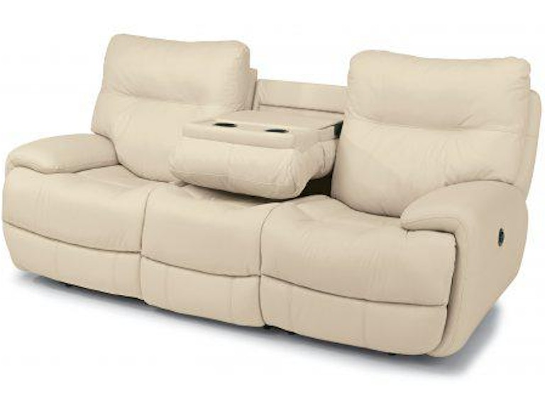 Flexsteel Evian Leather Power Reclining Sofa 1447-62P-675-12 - Portland, OR