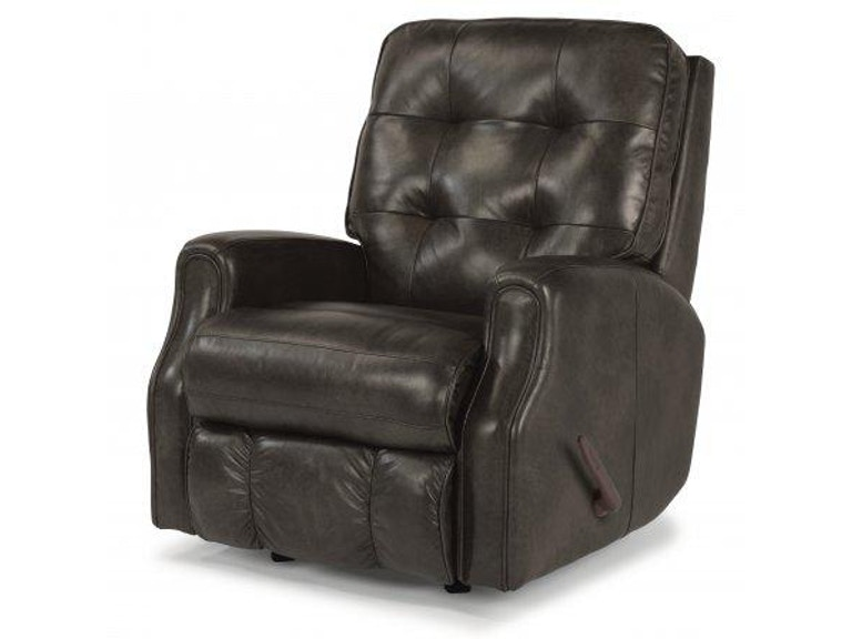 Flexsteel Leather Recliner Without Nailhead Trim 3882 50 In Portland Oregon