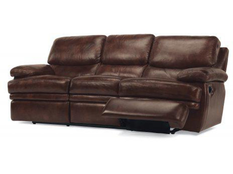 Flexsteel Dylan Leather Reclining Sofa 1127 62 908 72
