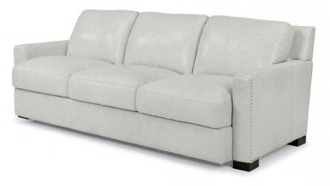 Flexsteel Leather Sofa 1369 31 In Portland, Oregon
