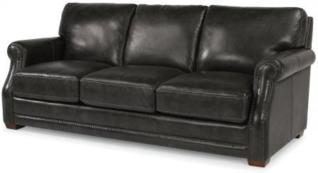 Flexsteel Leather Sofa 1365-31 - Portland, OR | Key Home ...