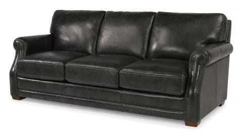 Flexsteel Leather Sofa 1365 31 In Portland, Oregon
