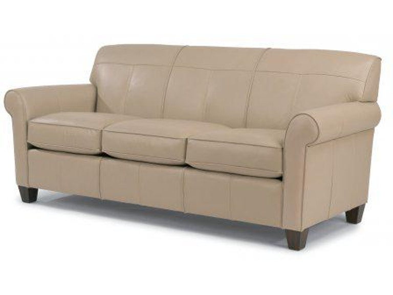 Flexsteel Leather Sofa B3990 31 In Portland Oregon