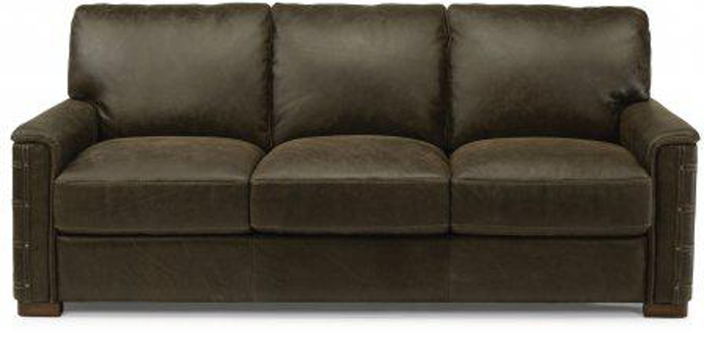 Flexsteel Leather Sofa 1131-31 - Portland, OR | Key Home ...