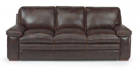 flexsteel penthouse leather sofa 1774 31 portland or key home rh keyhomefurnishings com Flexsteel Power Reclining Leather Sofa Flexsteel Outlet