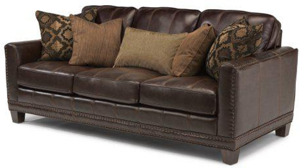 Flexsteel Leather Sofa 1373-31 - Portland, OR | Key Home ...